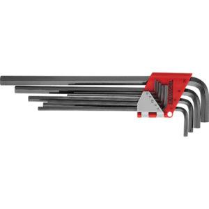 Teng 9pc Extra Long Metric Hex Key Set - 1.5-10.0mm