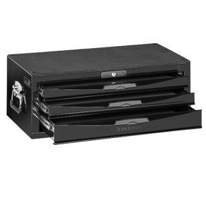 Teng 3-Dr. 8-Series Middle (Stacker) Tool Box (Black)