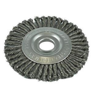 ITM Twist Knot Pipeline Wheel Brush Steel 125mm